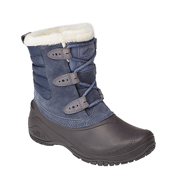 The North Face Shellista II Shorty Womens Boots (Previous Season), Grisaille Grey-Weathered Black, 600