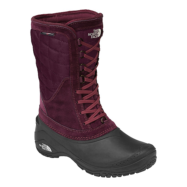The North Face Thermoball Utility Mid Womens Boots (Previous Season), Shiny Fig-Vintage White, 600