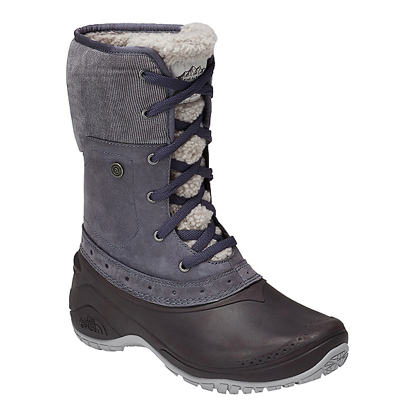 The North Face Shellista Roll-Down Womens Boots, Grisaille Grey-Weathered Black, 600