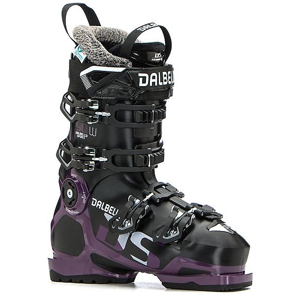 Dalbello DS 90 W Womens Ski Boots, Black-Grape, 600