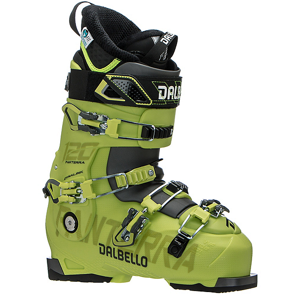 Dalbello Panterra 120 Ski Boots, Acid Yellow-Anthracite, 600