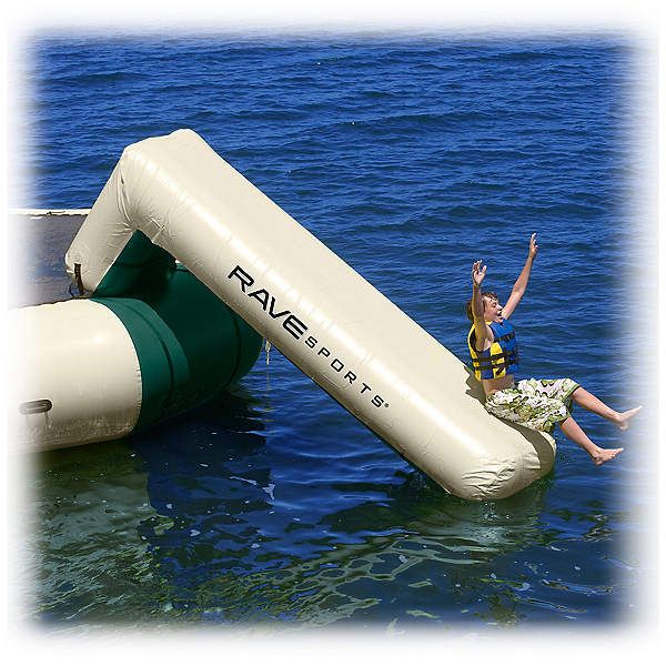 Rave Aqua Slide Large Attachment - Northwood's Edition Water Trampoline Attachment, , 600