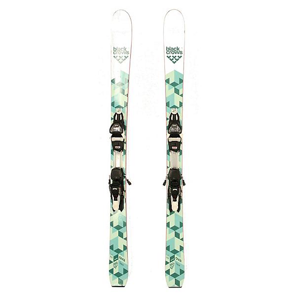 Used 2017 Womens Black Crows Ova Birdie Skis Marker FDT 12 Bindings A Cond, , 600