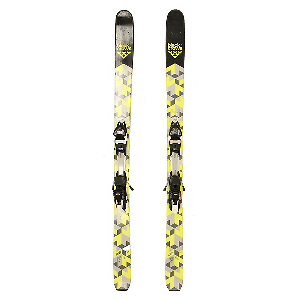 Used 2017 Black Crows Orb Skis Marker FDT 12 Bindings A Cond, , 600