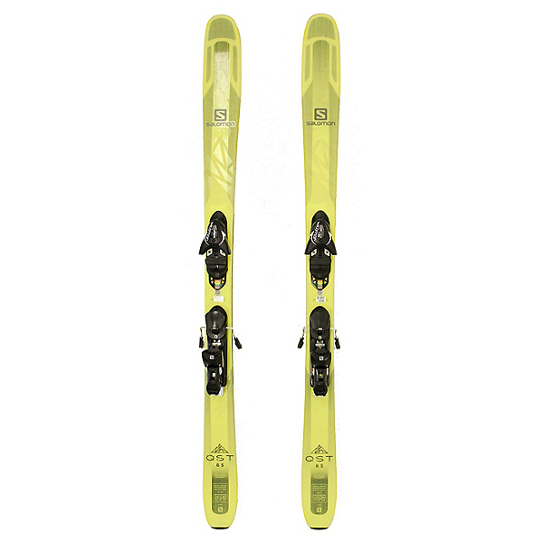 Used 2018 Salomon QST 85 Skis Salomon Z12 Bindings A Condition, , 600