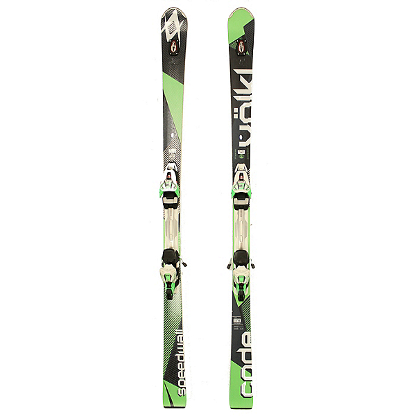 Used NICE 2016 Volkl Code Speedwall L Skis Marker R Motion Bindings C Condition, , 600