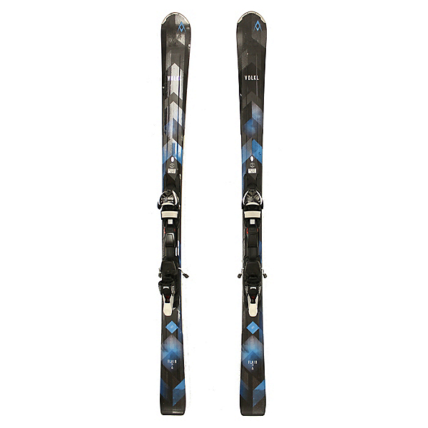 Used 2017 Womens Volkl Flair 78 Skis TCX Ladies Bindings C Cond SALE, , 600