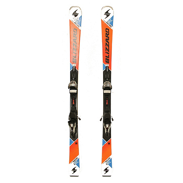 Used 2016 Blizzard Titanium Racing RC Skis Marker Power 12.0 TCK Bindings A Cond, , 600