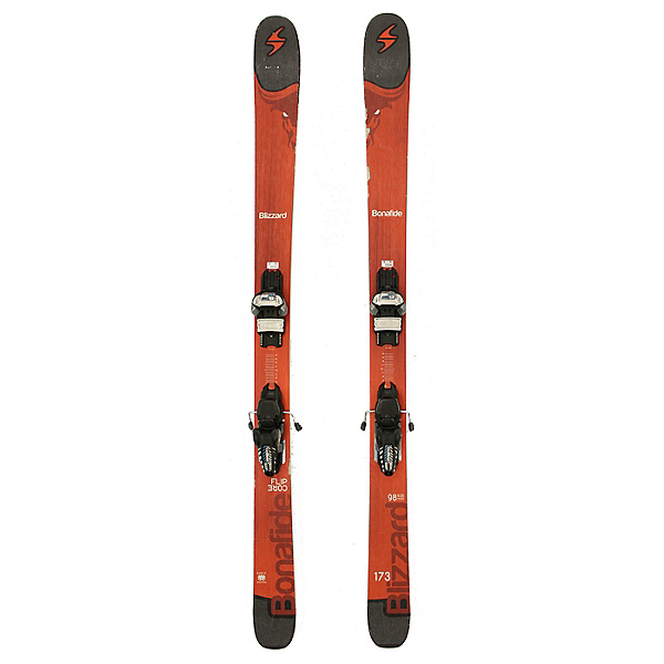 Used 2017 Blizzard Bonafide Skis Marker Griffon Bindings C Cond, , 600
