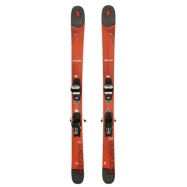 Used 2017 Blizzard Bonafide Skis Marker Griffon Bindings A Cond, , 600