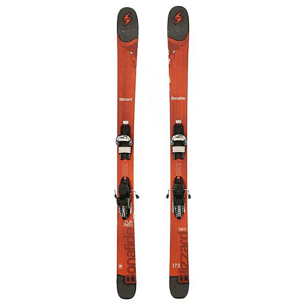 Used 2017 Blizzard Bonafide Skis Marker FDT 12 Bindings C Cond, , 600