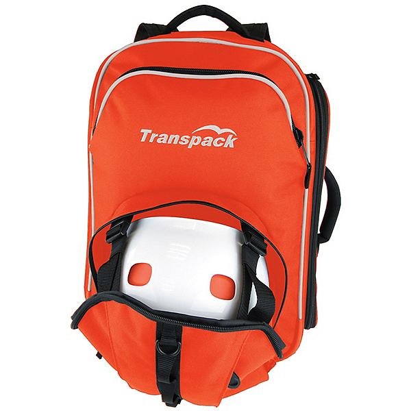 Transpack Boot Slinger Pro Ski Boot Bag 2020, Orange-Silver Electric, 600