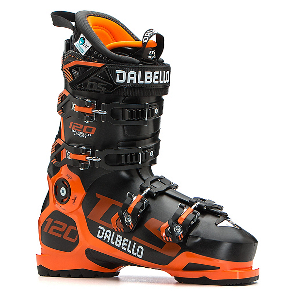 Dalbello DS 120 Ski Boots 2020, Black-Orange, 600