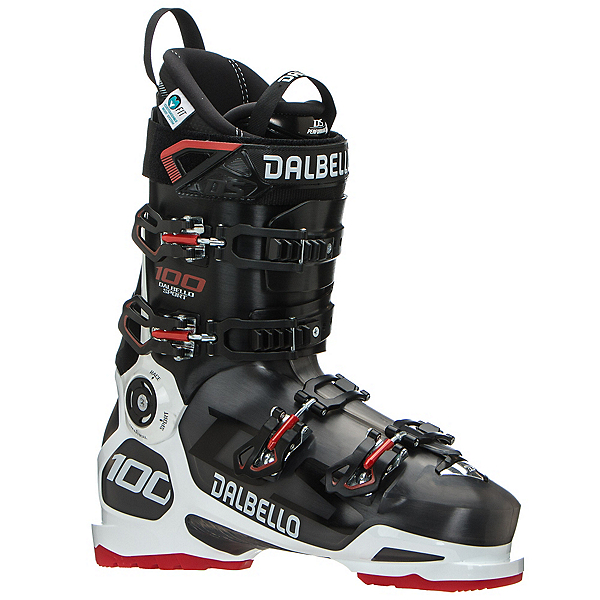 Dalbello DS 100 Ski Boots 2020, Black Transparent-Black, 600