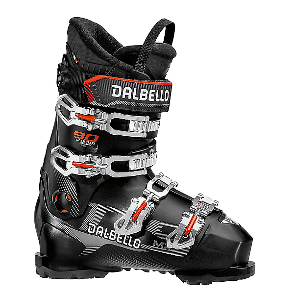 Dalbello DS MX 90 Ski Boots 2021, Black-Black, 600