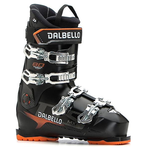 Dalbello DS MX 80 Ski Boots, Black-Black, 600