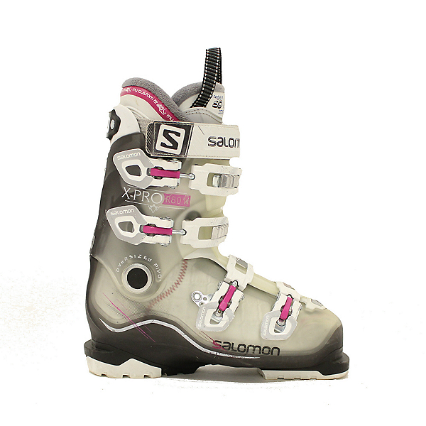 Used Womens Salomon Xpro R 80 W Ski Boots SALE, , 600