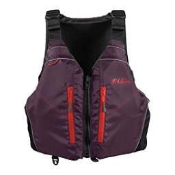 Old Town Riverstream Universal Adult Kayak Life Jacket 2018, Black Cherry, 256