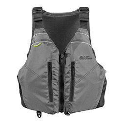 Old Town Riverstream Universal Adult Kayak Life Jacket 2018, Silver, 256