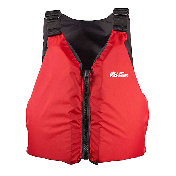 Old Town Universal Outfitter Adult Kayak Life Jacket, Red, 600