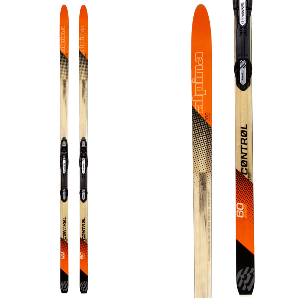 Image of Alpina Control 60 Cross Country Skis with Bindings 2020