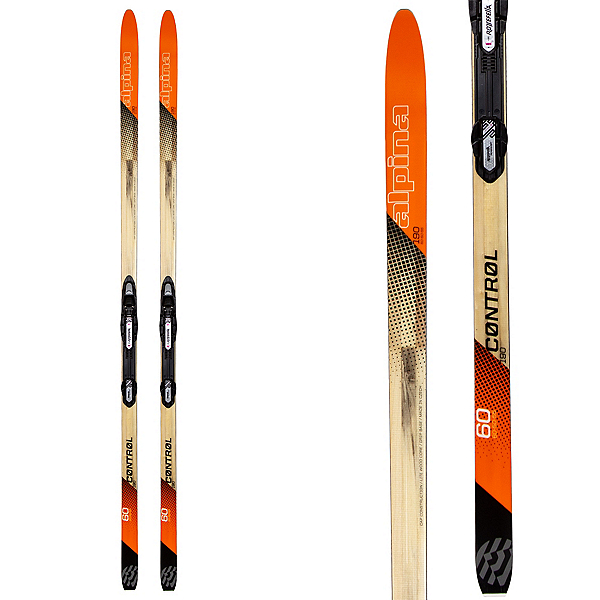Alpina Control 60 Cross Country Skis with Bindings 2020, , 600