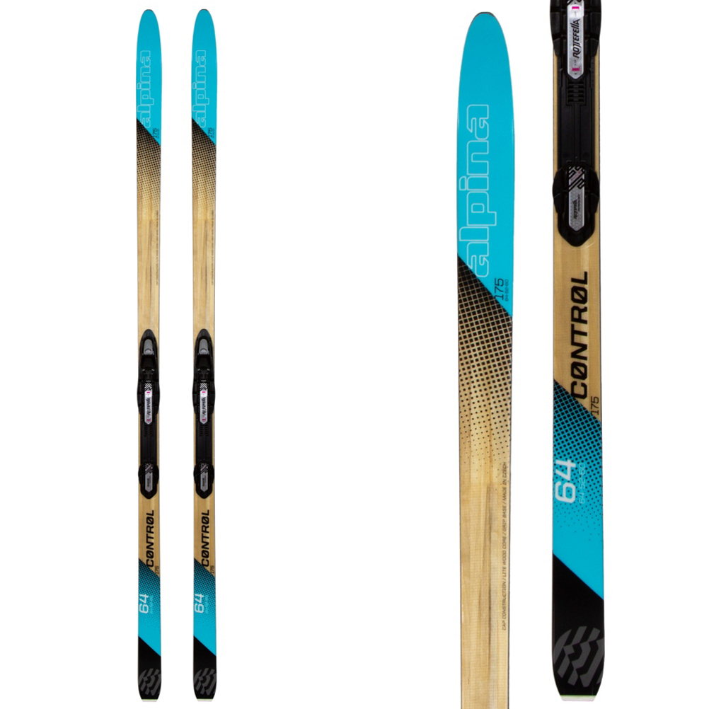 Image of Alpina Control 64 W Womens Cross Country Skis with Bindings