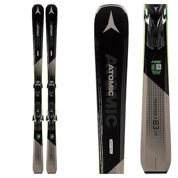 Atomic Vantage X 83 Cti Skis with Warden MNC 13 Bindings, , 600