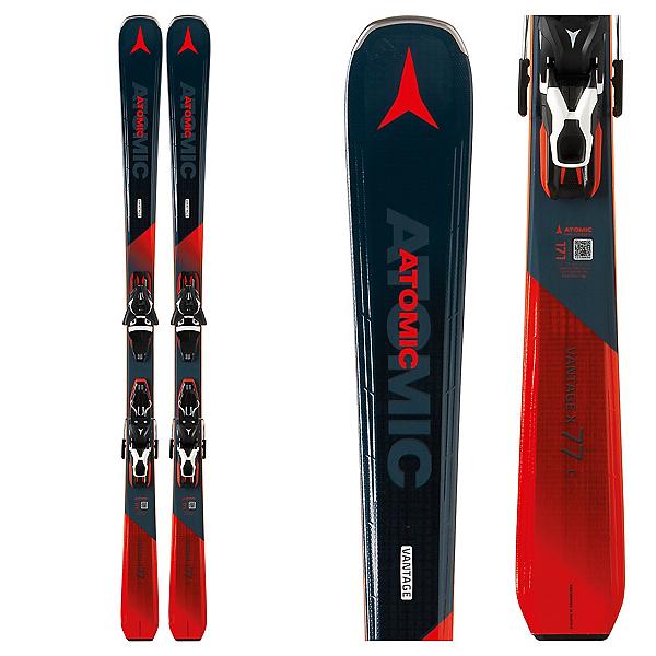 Atomic Vantage X 77 C Skis with FT 11 GW Bindings 2019, , 600