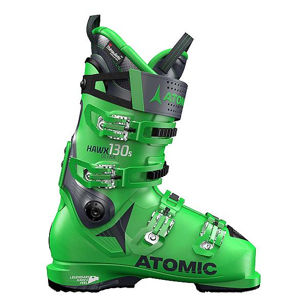 Atomic Hawx Ultra 130 S Ski Boots, Green-Dark Blue, 600