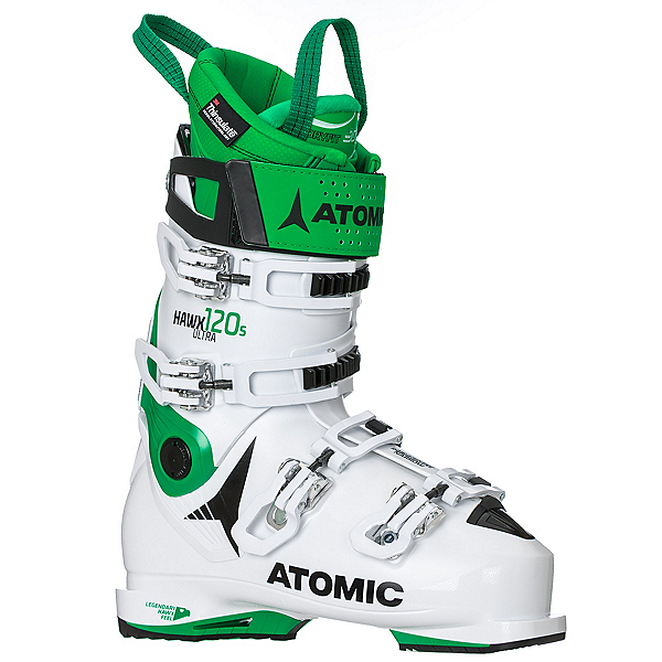 Atomic Hawx Ultra 120 S Ski Boots, White-Green, 600
