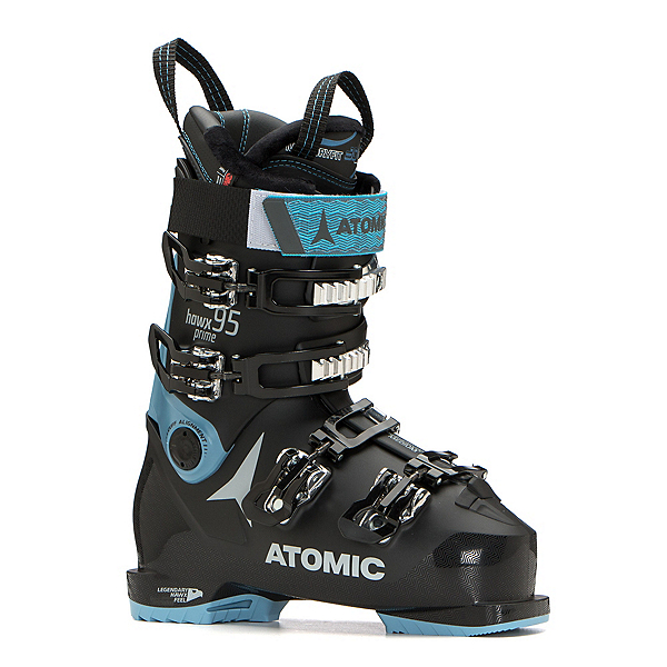 Atomic Hawx Prime 95 W Womens Ski Boots 2020, Black-Denim Blue, 600