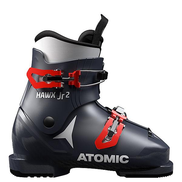 Atomic Hawx Jr. 2 Kids Ski Boots 2020, Dark Blue-Red, 600