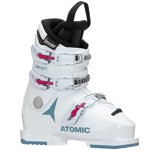 Atomic Hawx 3 Girls Ski Boots 2021, White-Denim Blue, 600