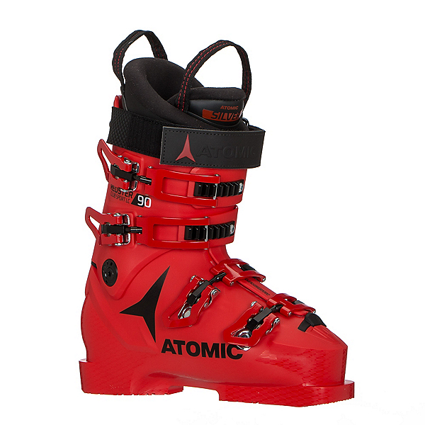 Atomic Redster Club Sport 90 LC Junior Race Ski Boots 2019, Red-Black, 600