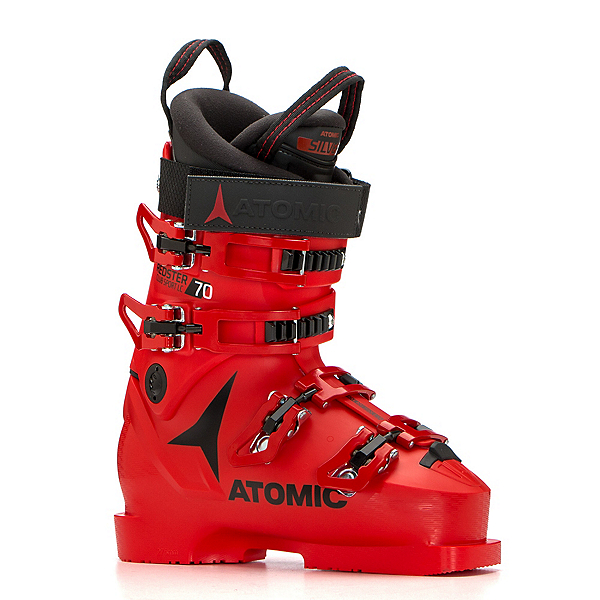 Atomic Redster Club Sport 70 LC Junior Race Ski Boots, Red-Black, 600