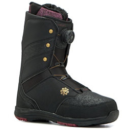 Flow Onyx Boa Coiler Womens Snowboard Boots, Black, 256