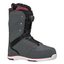 Flow Onyx Boa Coiler Womens Snowboard Boots, Slate-Ruby, 256