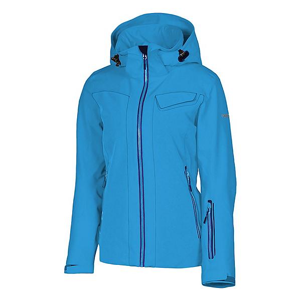 Karbon South Womens Insulated Ski Jacket, Hawaiin Blue-Navy-Hawaiin Blue, 600