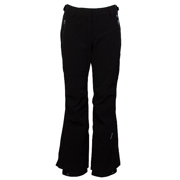 Karbon Meridian Womens Ski Pants, Black-Black-Charcoal-Black, 600