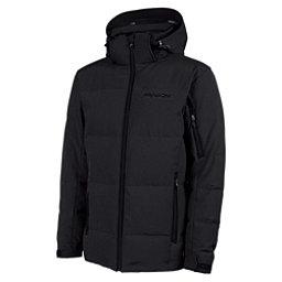 Karbon Thor Mens Insulated Ski Jacket, Black-Black-Black, 256
