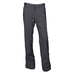 Karbon Dial Mens Ski Pants, Charcoal-Black-Pu Film, 256