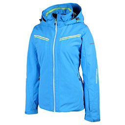 Karbon Ruby Womens Insulated Ski Jacket, Cayman Blue-Arctic White-Arcti, 256