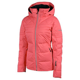 Karbon Ampere Womens Insulated Ski Jacket, Coral, 256