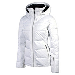 Karbon Ampere Womens Insulated Ski Jacket, Arctic White, 256