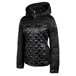 Karbon Pascal Womens Insulated Ski Jacket, Black-Midnight Black, 256