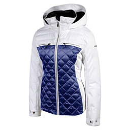 Karbon Pascal Womens Insulated Ski Jacket, Arctic White, 256