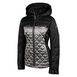 Karbon Pascal Womens Insulated Ski Jacket, Black-Pewter, 256