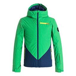 Quiksilver Suit Up Boys Snowboard Jacket, Estate Blue, 256