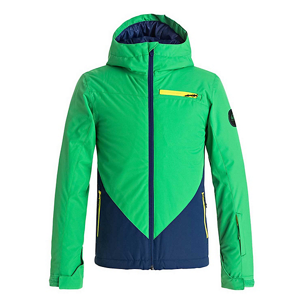 Quiksilver Suit Up Boys Snowboard Jacket 2018, , 600